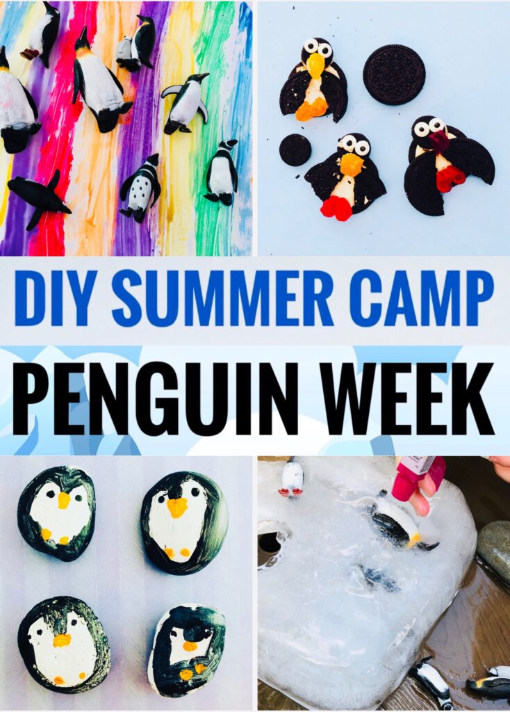 DIY Summer Camp Penguin Week Activities
