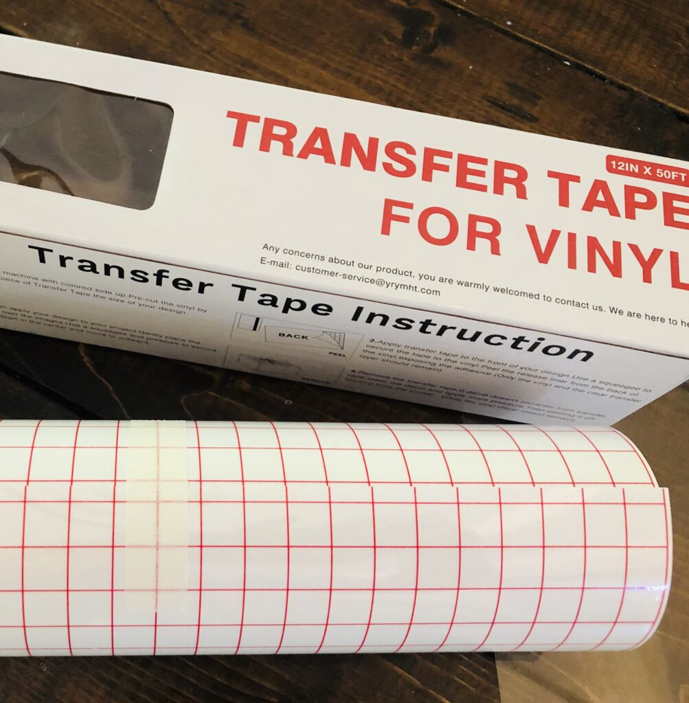 Best Transfer Tape for Vinyl Cricut Projects