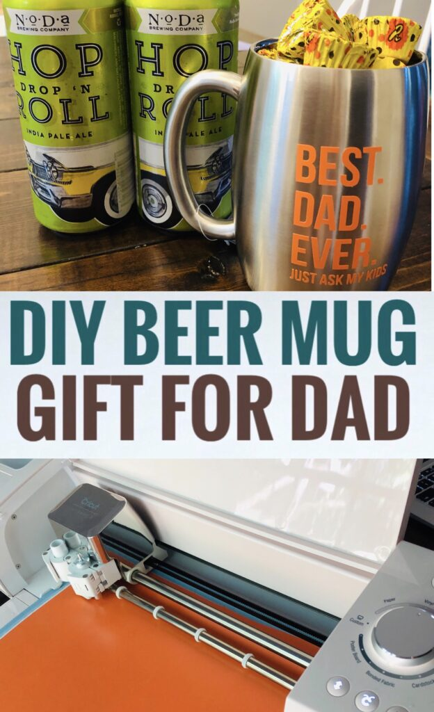 DIY Beer Mug Gift Idea for Dad