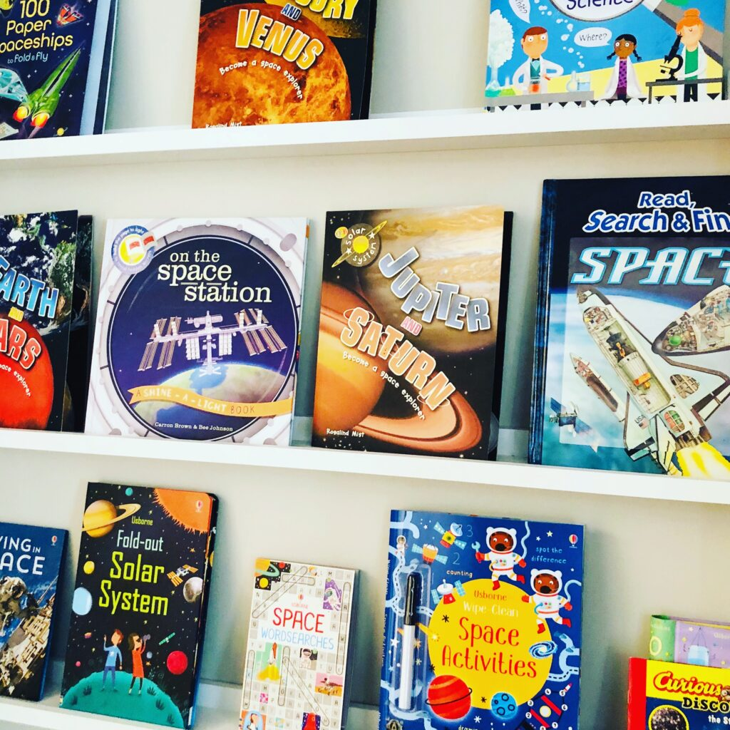 Space Themed Books for Kids