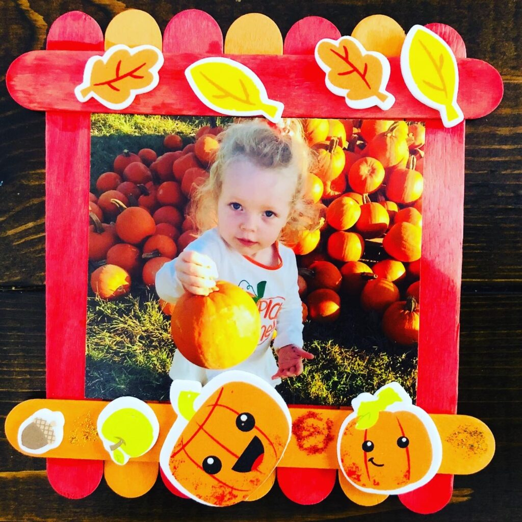 Fall Popsicle Stick Craft for Kids