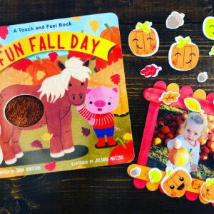 Fun Fall Day Popsicle Stick Frame Craft