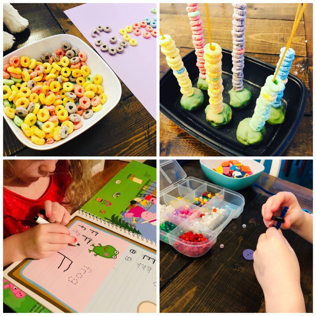 Easy Set Up Preschool Activities