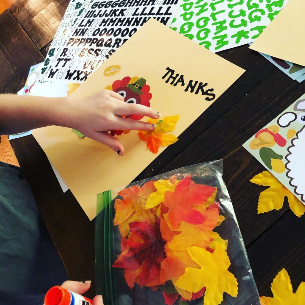 Thanksgiving Day Kids Activity