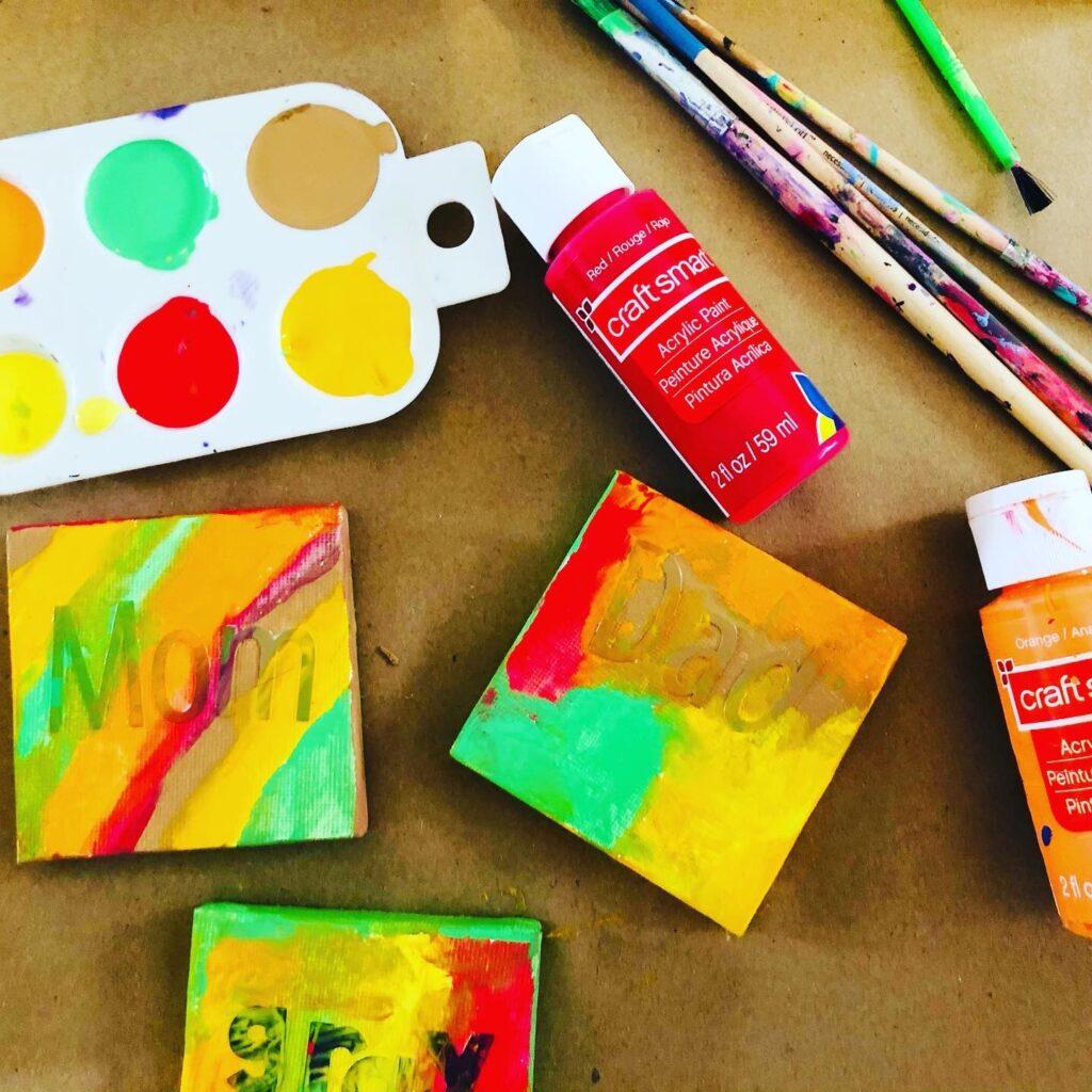 DIY Thanksgiving Place Cards Kids Can Make Craft