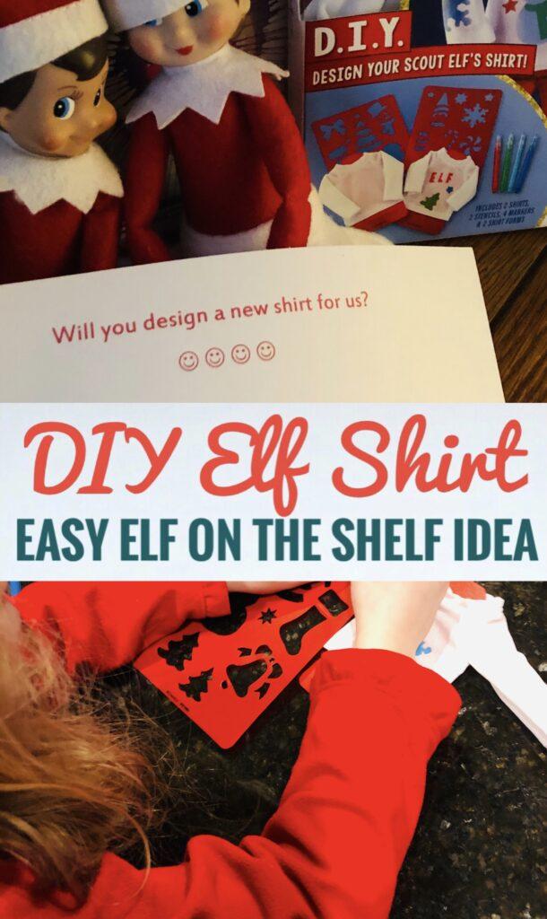 DIY Elf Shirt Easy Idea