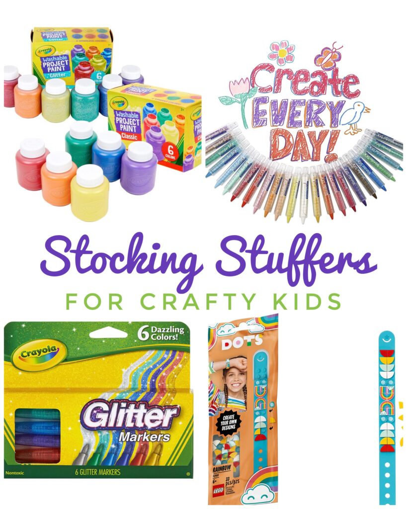 Stocking Stuffers for Crafty Kids