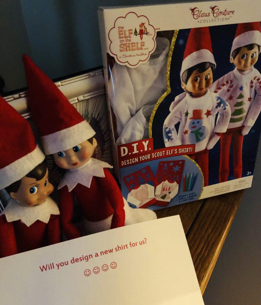 Easy Elf on the Shelf Idea and Activity