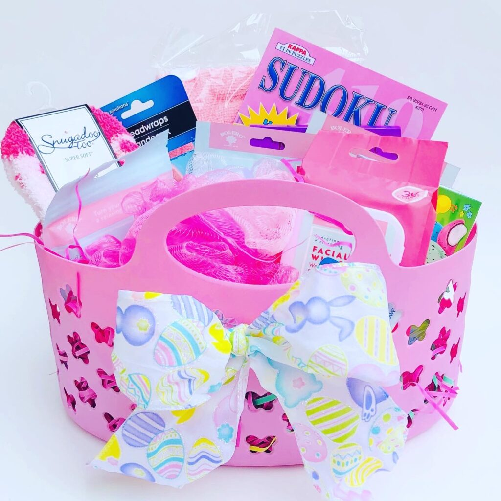 Dollar Tree Spa Gift Basket