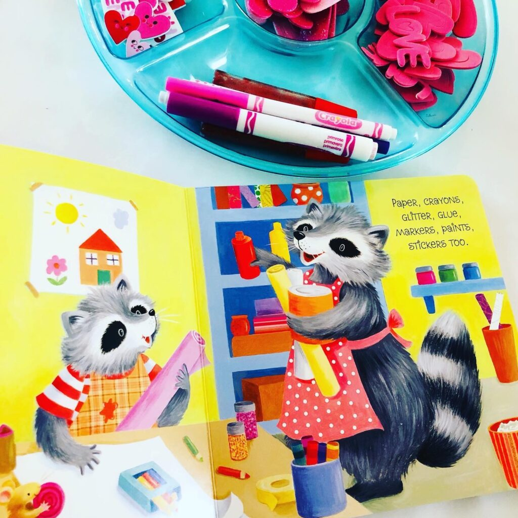 Valentine Book Activity for Preschoolers