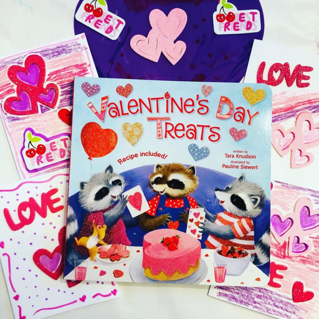 Valentine Card Activity Tray and Board Book