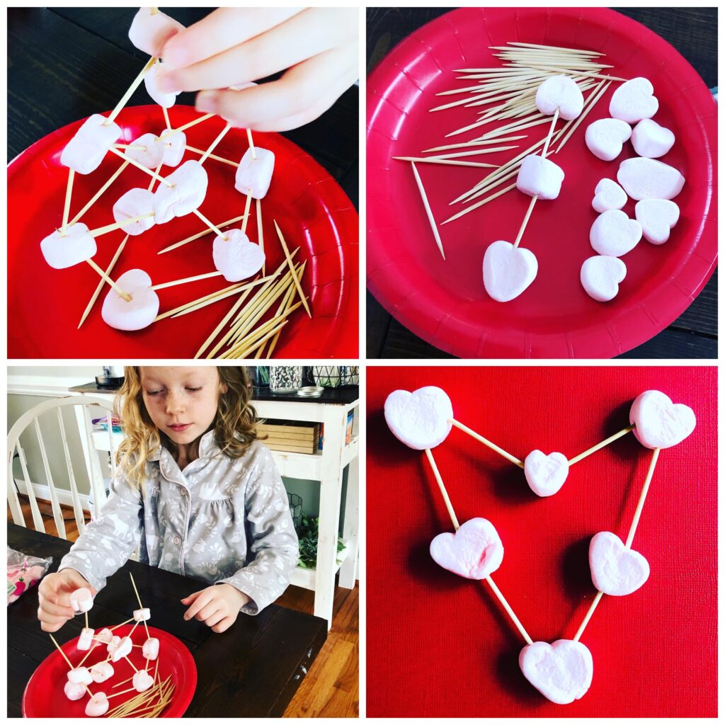 Simple Valentine's Day STEM Activity for Kids