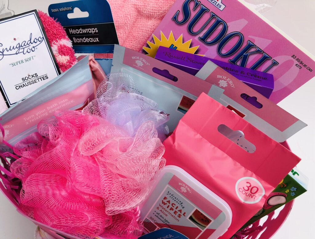 Dollar Tree Ladies Gift Basket Items