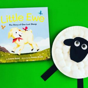 Paper Plate Sheep Craft and Book Review
