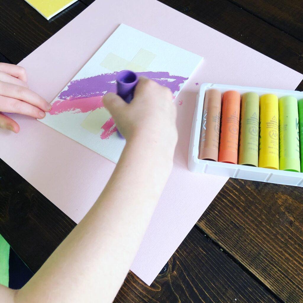 Easter Cross Craft for Preschoolers