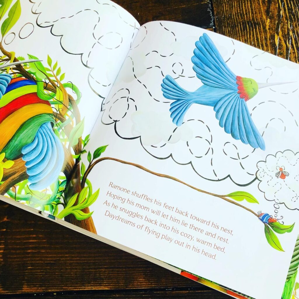 Beautiful Children's Book about Birds and separation anxiety