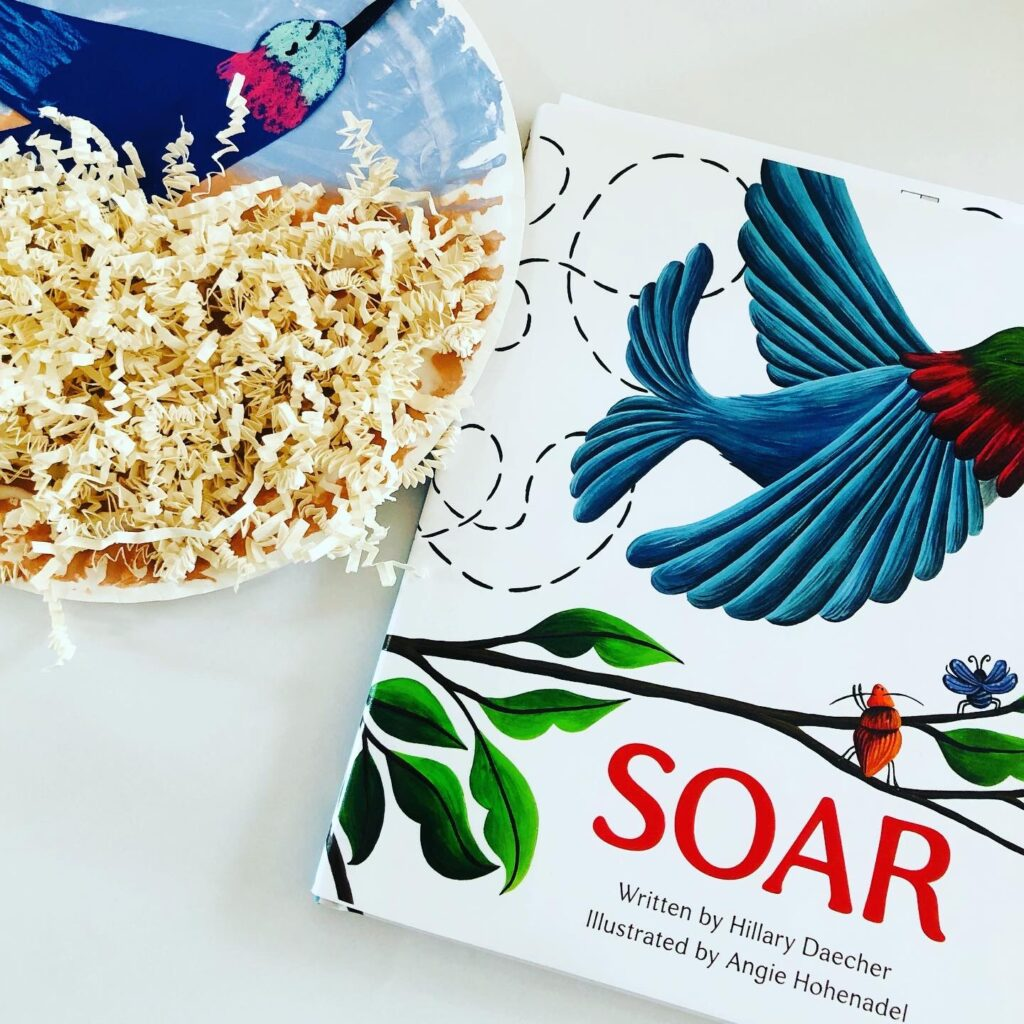 Paper Plate Bird Nest Craft and Book Review
