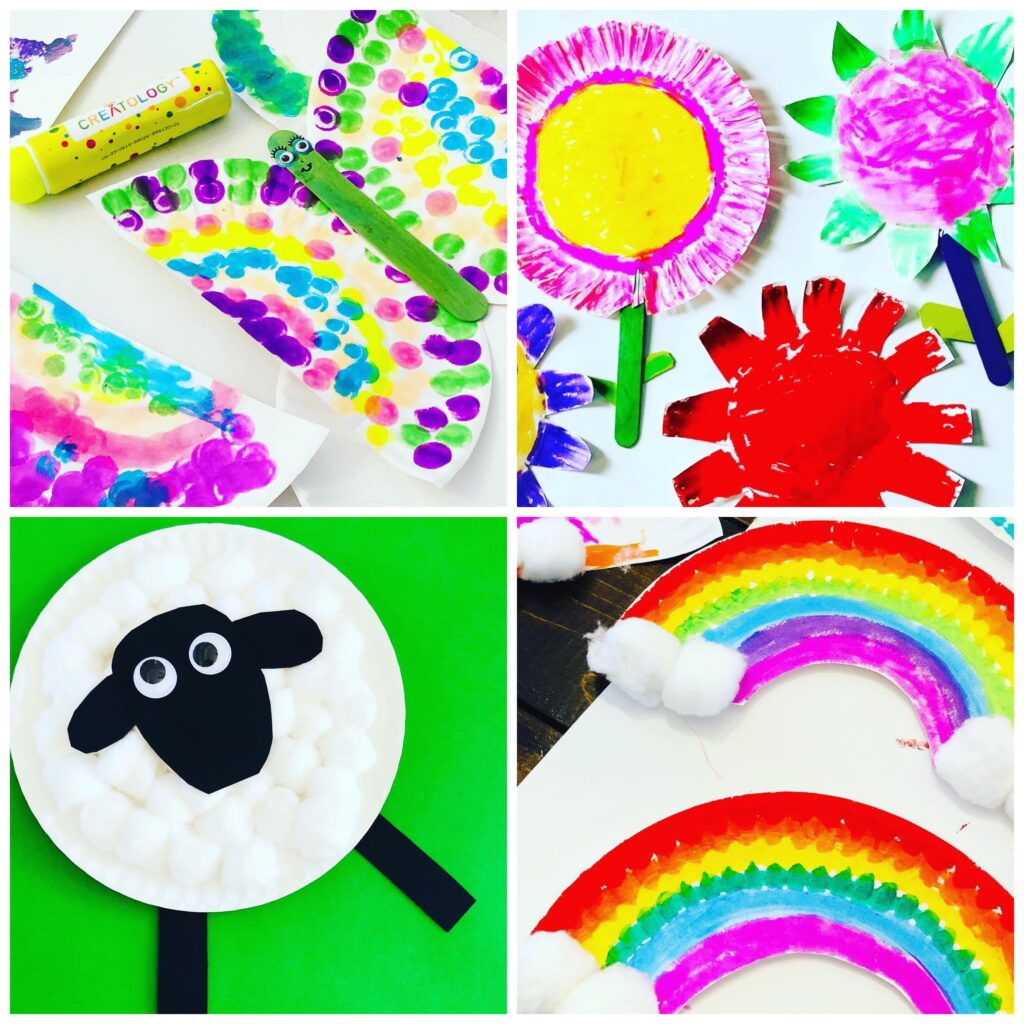Cute and Easy Spring Paper Plate Crafts for Kids