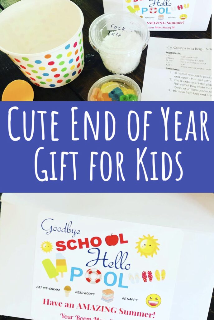 Ice Cream Kit End of Year Gift for Kids