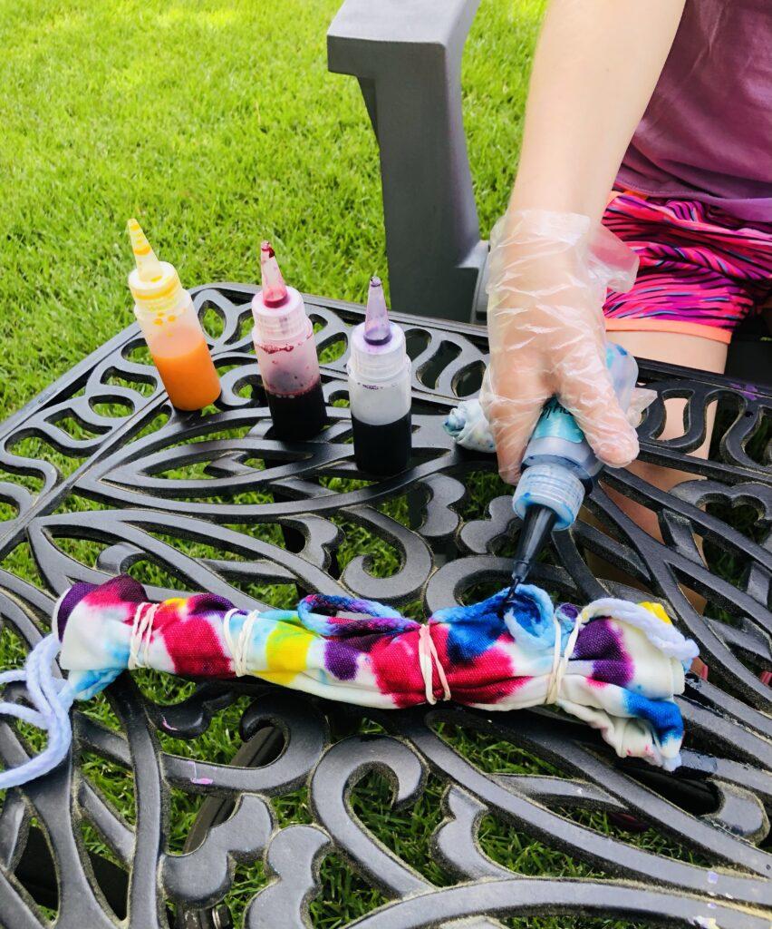 Tie Dye for Art Week Fun