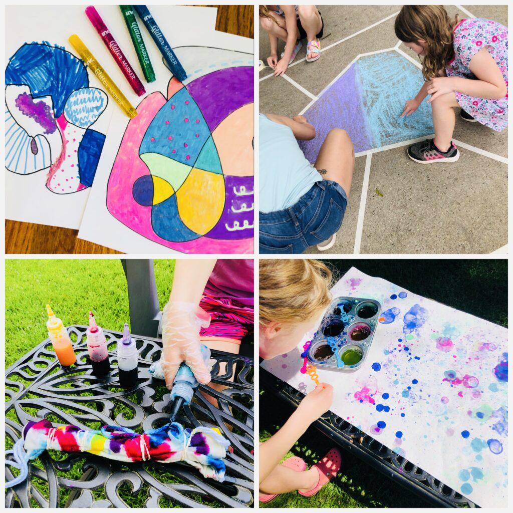 Summer Art Week Activities