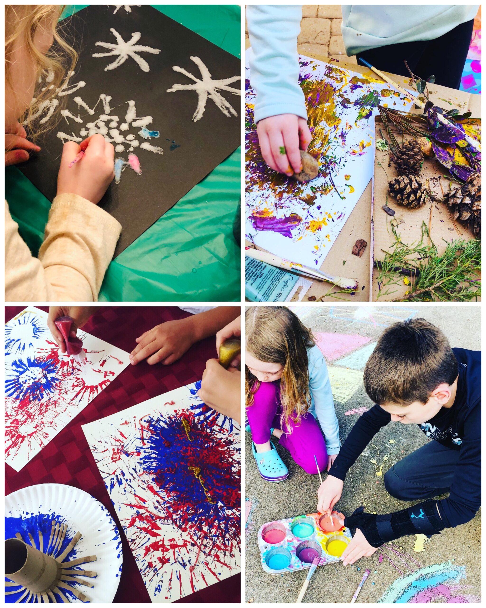 Art Camp Activities for Kids